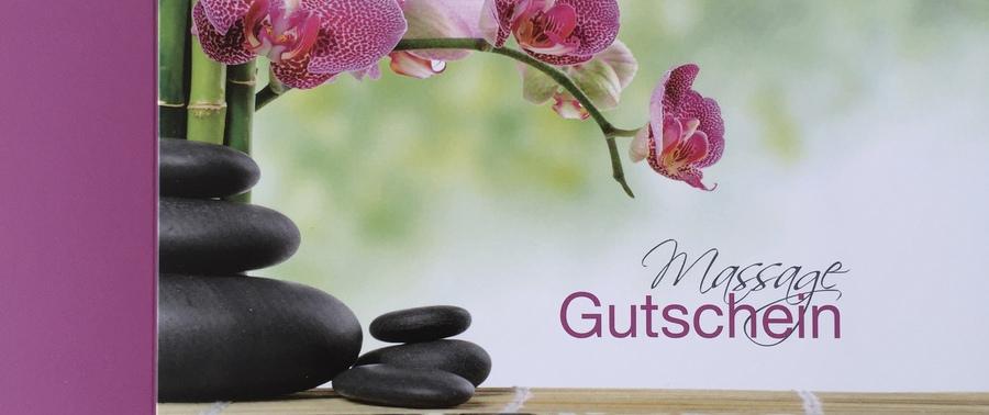 Wellness gutschein selber machen  Geschenkgutschein - Massagegutschein Wohlbefinden und Gesundheit